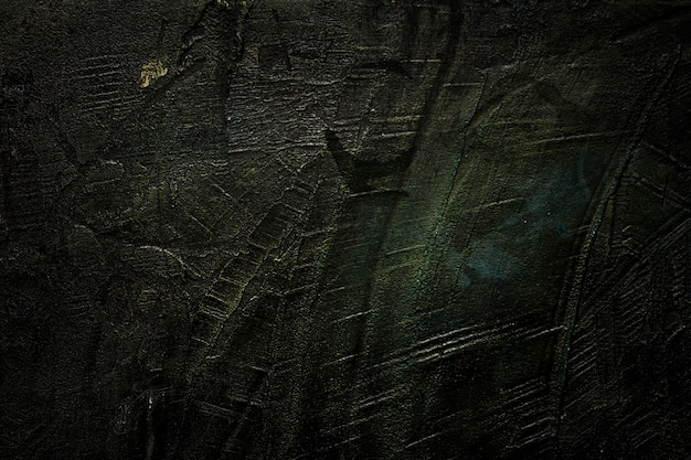 Scratched black wooden texture copy space