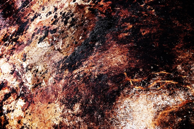 Scratched metal grunge surface