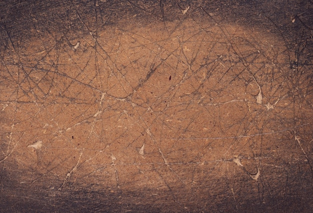 질감 표면으로 긁힌된 나무 보드 배경