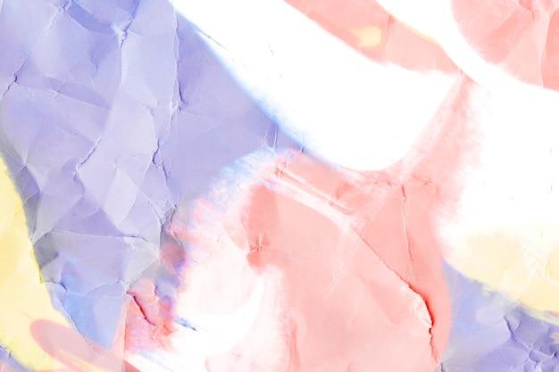 Сморщенная пастельная бумага текстурированный фон