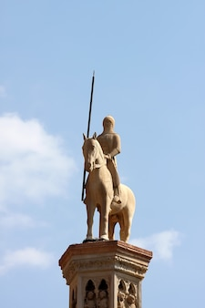 Sculpture in verona, italy