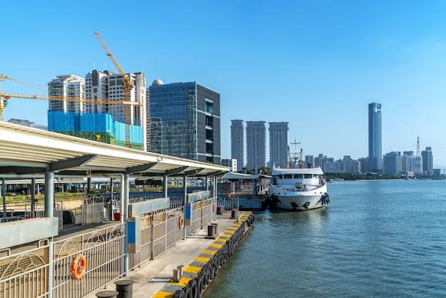 샤먼, 중국의 바다와 도시 전망
