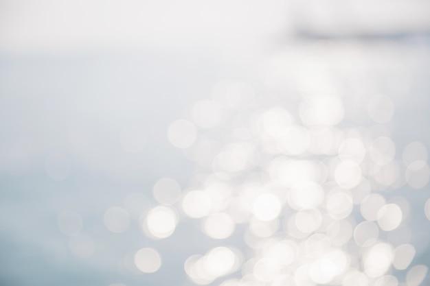 Sea background in blur focus