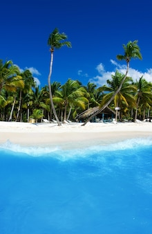 Море, пляж. концепция отдыха и туризма.