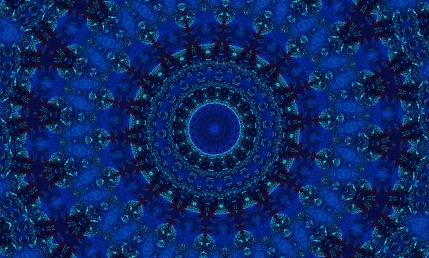 シーブルーシームレス航海イカットパターン。繰り返されるセラミックモザイク。インディゴバナー。白地に無限の青みがかった手描きのイカット。ネイビー水彩デザイン。スカイブルーグランジエスニック