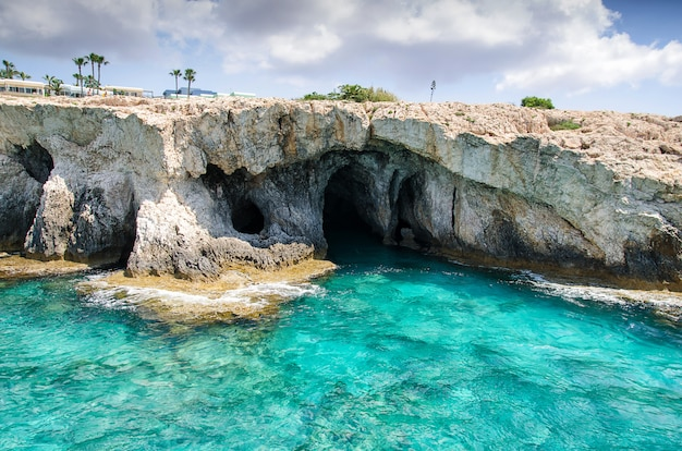 Морские пещеры мыса каво греко. айя-напа, кипр