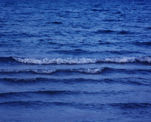 Sea, evening, summer time. nature background