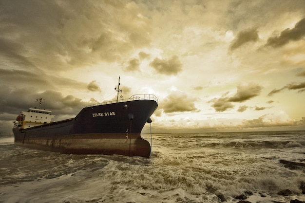 Sea fine art seaside depression clouds