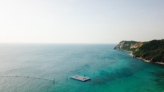 有名なタイのビーチの海