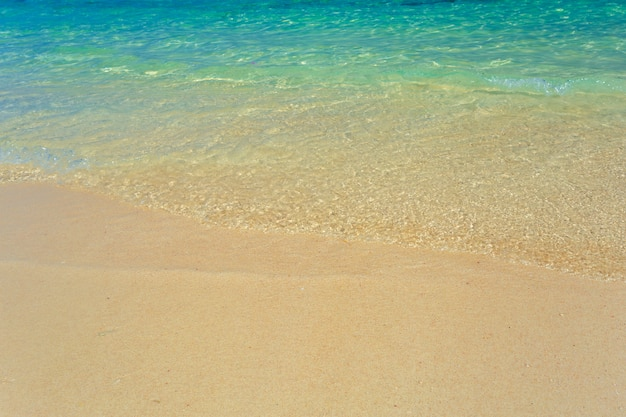 Sea, tropical paradise background