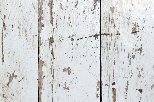 Sea vapor scratched white painted wood texture, old and vintage. perfect for background.