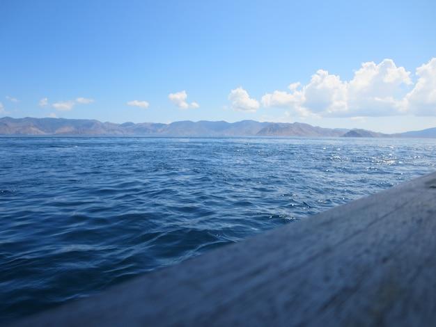 Вид на море утром