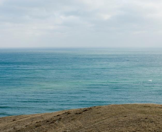 Sea at winter