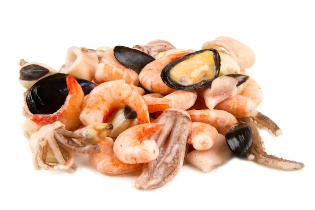 Seafood frozen
