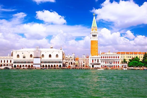 베니스 해변 - doge's ducale palace, 베니스, 이탈리아