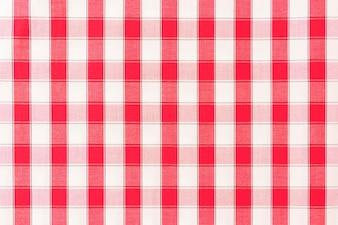 Seamless backdrop of check pattern fabric
