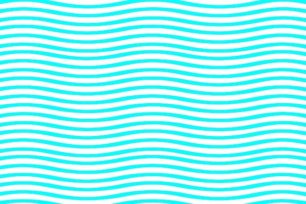 직물 인쇄 및 포장을 위한 착시 패턴의 원활한 파란색과 흰색 파도
