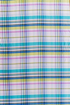 Seamless chequered pattern textile