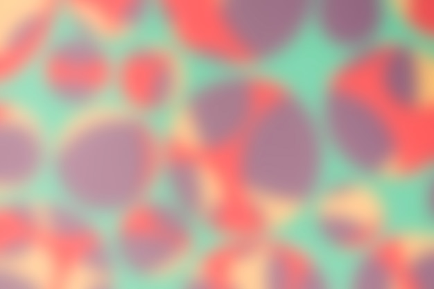 Seamless defocused pattern with multicolored circles