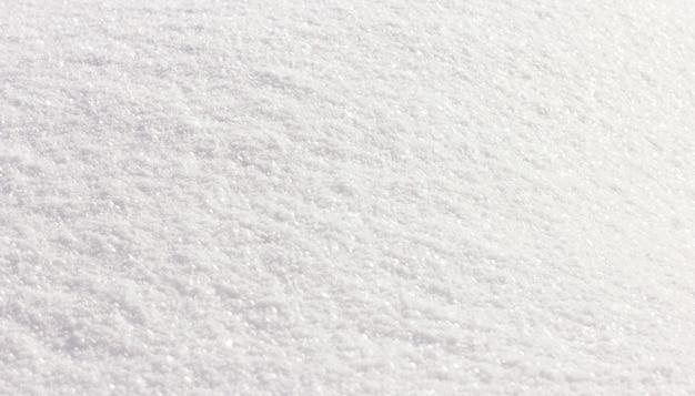 원활한 신선한 흰 눈 배경