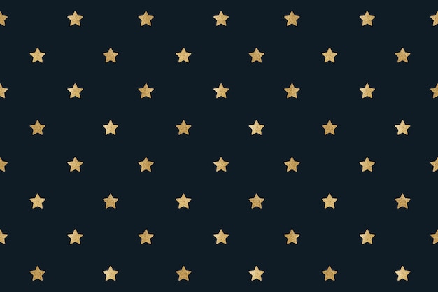 Seamless glittery gold stars design resource
