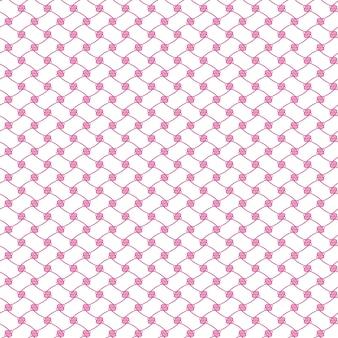 Бесшовные иллюстрированный абстрактный фон розовый чистый узор