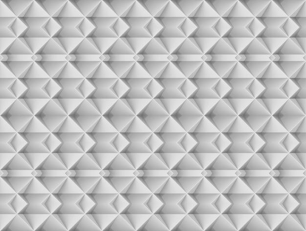 Seamless modern gray square grid art pattern wall background.