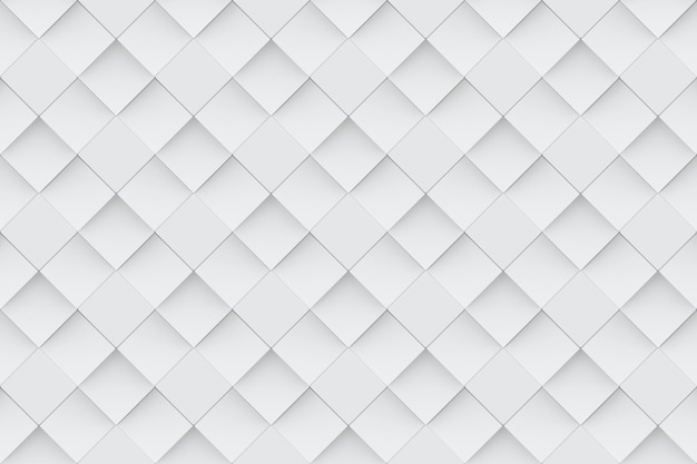Seamless modern light gray square grid pattern wall background.