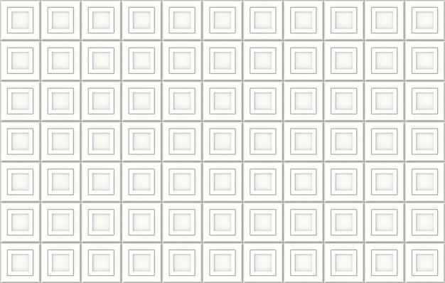 원활한 현대 사각형 큐브 블록 벽 배경입니다.