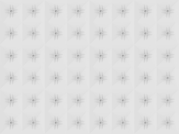 Seamless modern white light tone grid square art pattern wall