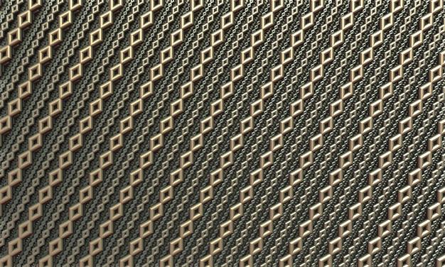 보석 금 사슬의 완벽 한 패턴 배경