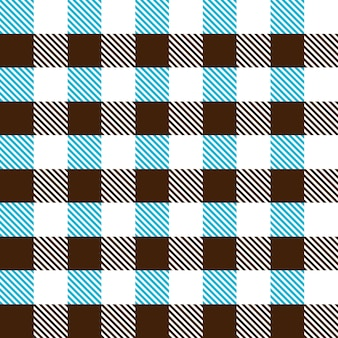 Seamless pattern of a cage of two colors on a white background