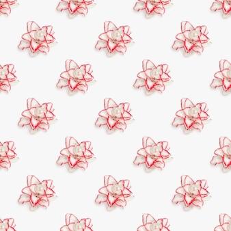 모란 백합 꽃이 만발한 섬세한 꽃에서 완벽 한 패턴