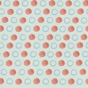 원활한 패턴 기하학적 모양 원형 삼각형 사각형.