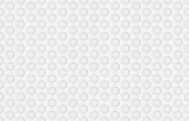 Seamless pattern of hexagons and circles based on hexagonal grid