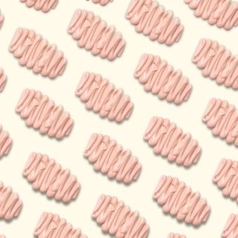 Seamless pattern liquid foundation