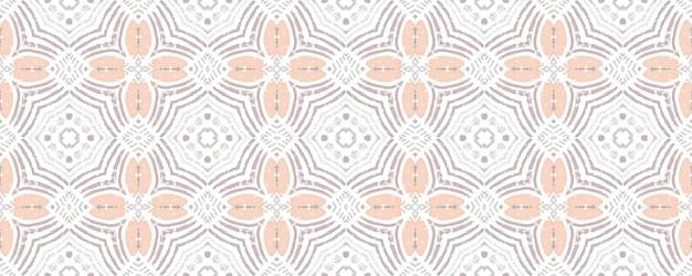 シームレスパターン。オリエンタルスタイルの背景。ベージュホワイトカラー。ボヘミアンプリント。