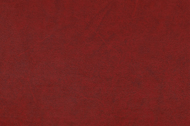 Seamless pattern of red, maroon artificial leather surface background