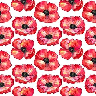 Cornflowers와 함께 완벽 한 패턴입니다. 푸른 아름다운 꽃. 손으로 그린 수채화 그림. 인쇄, 직물, 섬유, 벽지 질감.