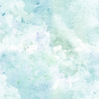 Seamless pattern with watercolor hand painted abstract texture.