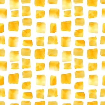 Бесшовный фон с желтыми пятнами на белом