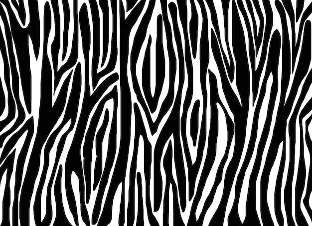 ゼブラスキンとのシームレスなパターン