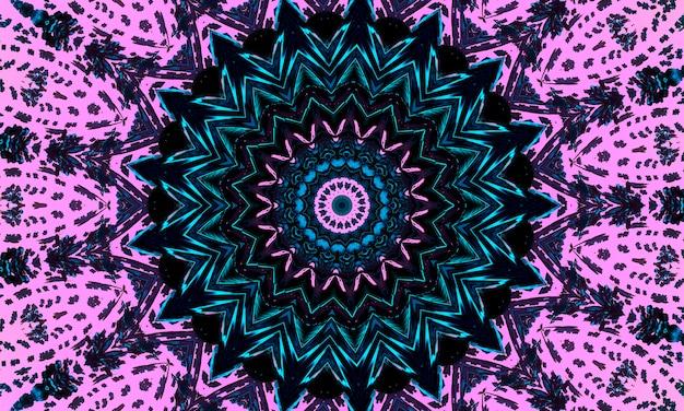 Бесшовные розовая мозаика цветной узор с точками. традиционный этнический орнамент. используется для обоев, узорных заливок, текстильного дизайна.