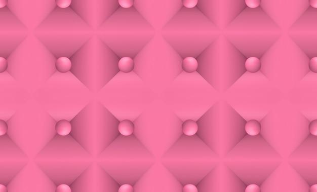 シームレスなピンクソファの表面のテクスチャ