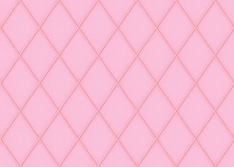 シームレスな甘い柔らかいピンク色トーングリッドスクエアアートパターン壁の背景。