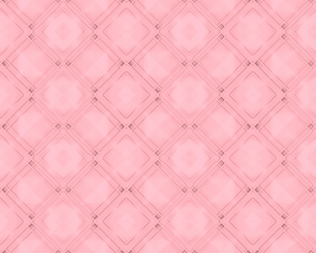 Seamless sweet soft pink grid square art pattern tile wall