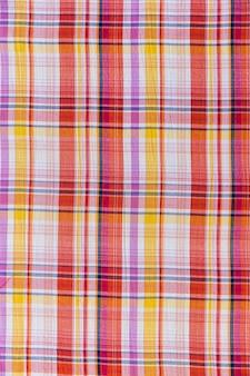 Seamless tartan pattern textile