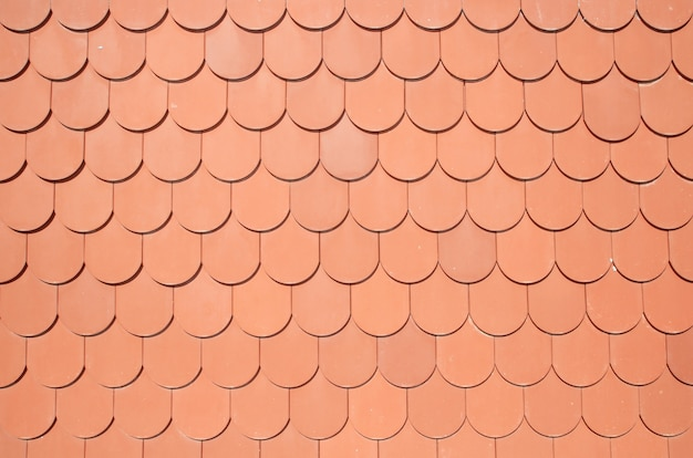 Seamless texture of brown roof background