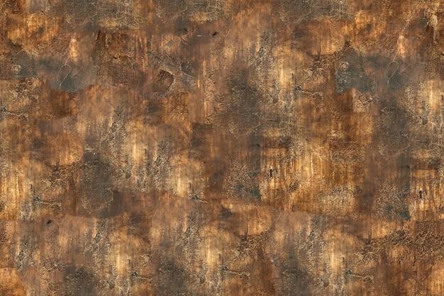 シームレステクスチャブラウン壁漆喰ダーク