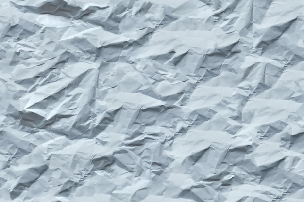 Seamless texture of crumpled white paper